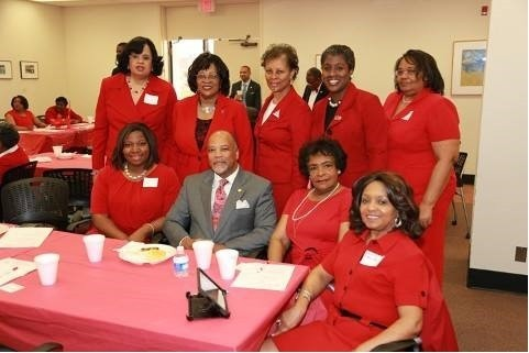 GSCAC of Delta Sigma Theta with The Honorable Karl Allen at Delta Day at the State Capital (SC)