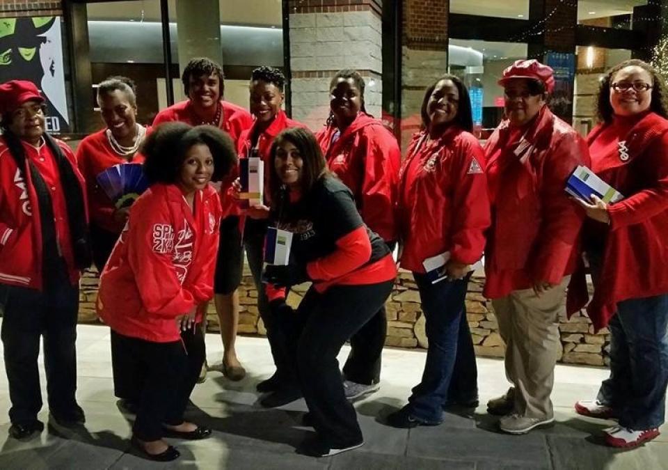 Delta Sigma Theta Greenville (SC) Alumnae AIDS Awareness Activity