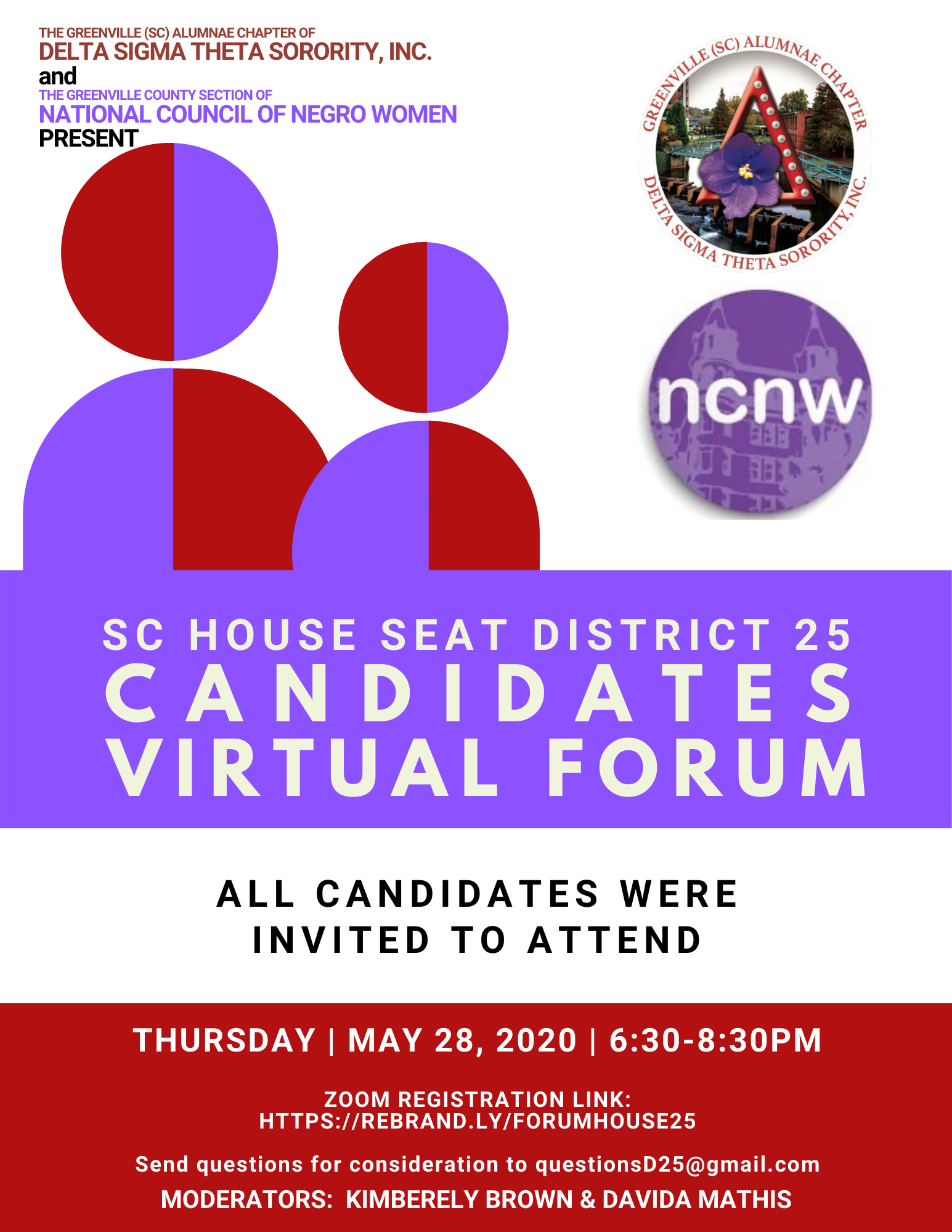 Greenville House District 25 Virtual Candidates Forum